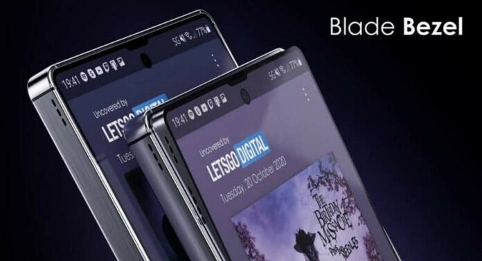 Samsung Blade Bezel