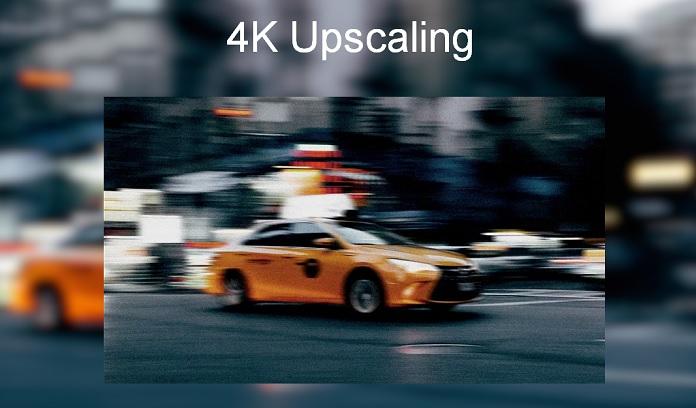 KIVI 4K Upscaling