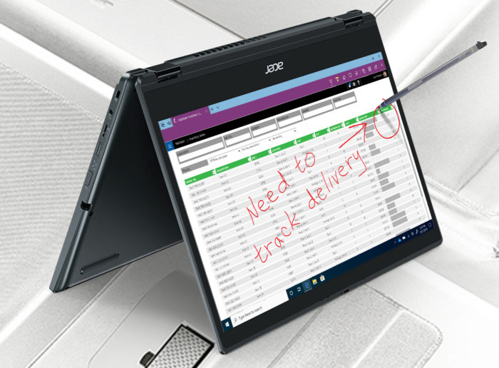 Acer TravelMate Spin P4