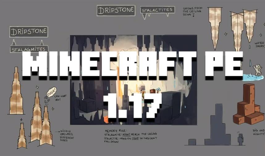Download Latest Minecraft Pe 1 17 10 1 17 20 1 17 30 Update Apk Free Caves Cliffs