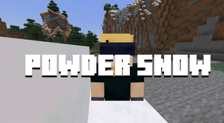 Minecraft PE 1.17.10, 1.17.20 & 1.17.30 - Powder Snow