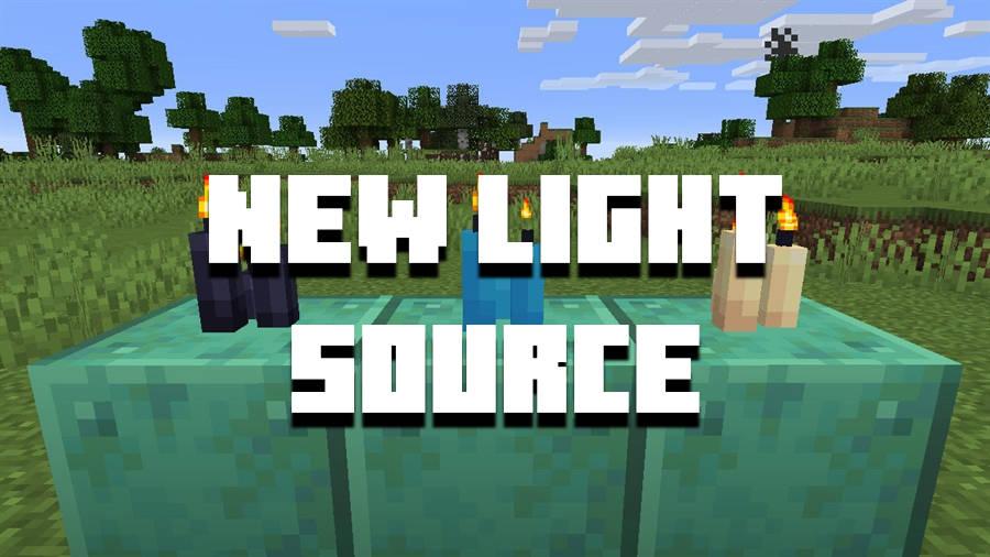 Minecraft PE 1.17 - Candles