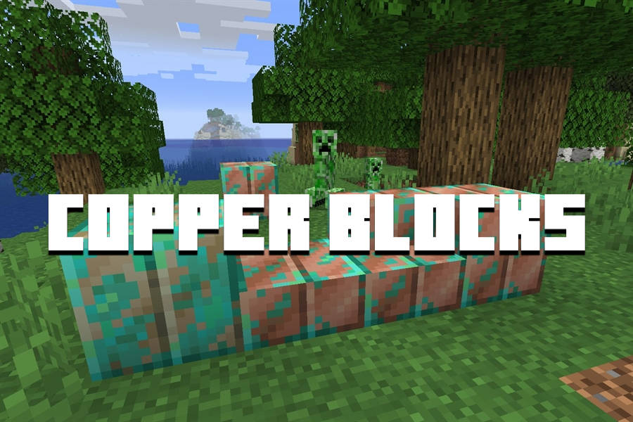 Minecraft PE 1.17 - Copper Blocks