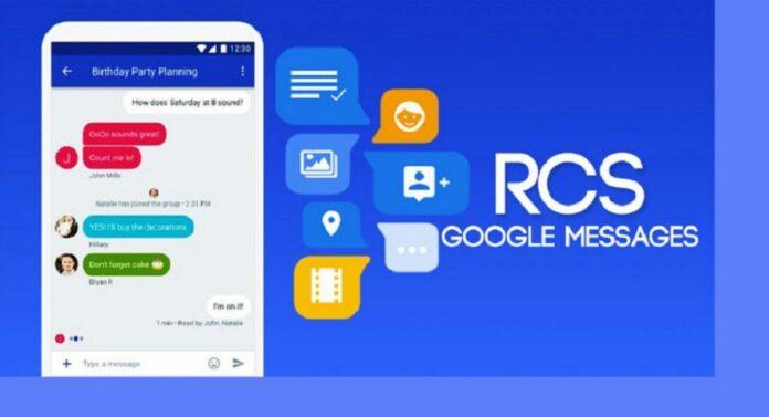 Google messages rcs