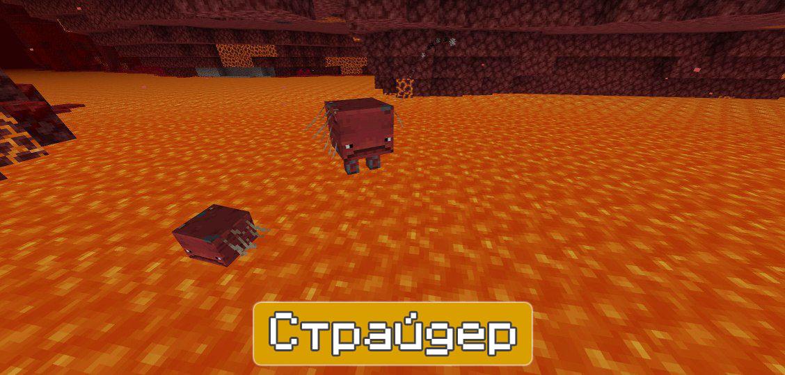 Страйдер в Майнкрафт 1.16.200 и 1.16