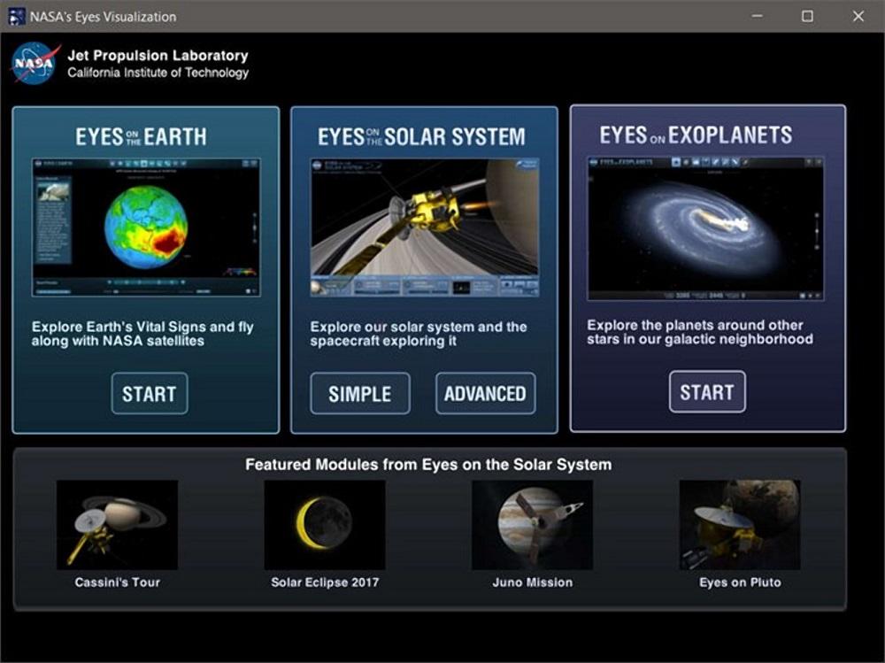 NASA's Eyes