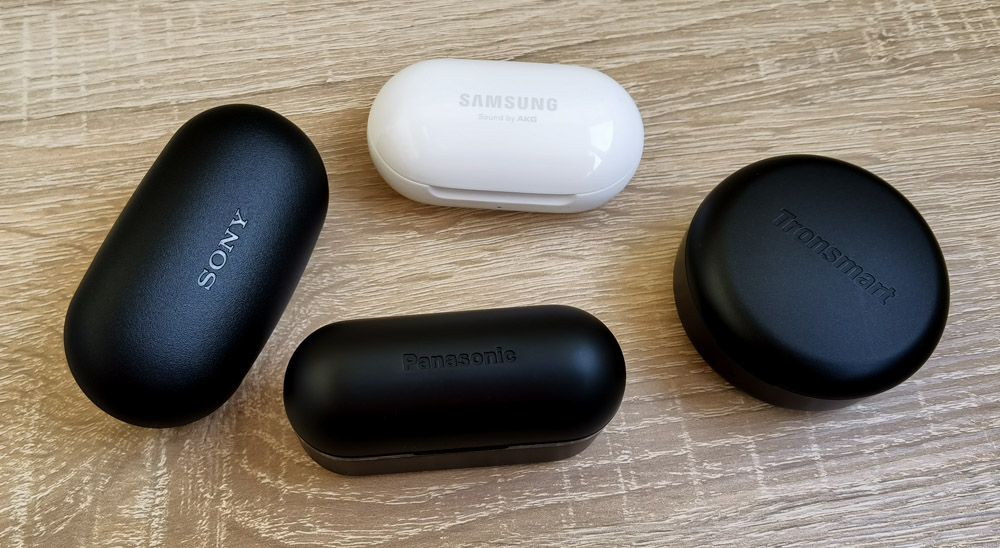Panasonic RZ-S500W vs Sony WF-XB700 vs Samsung Galaxy Buds+ vs Tronsmart Apollo Bold