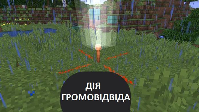 Громовідвід в Minecraft PE 1.17.30, 1.17.60 і 1.17.90