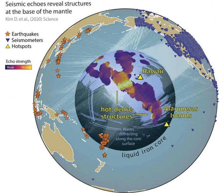 Жахливі краплі біля ядра Землі більше, ніж ми думали