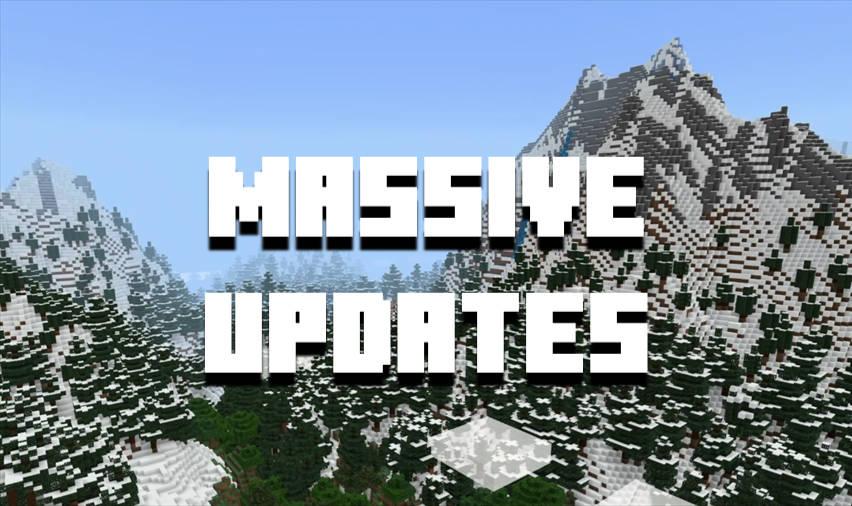 MCPE in 2021 - Massive Updates