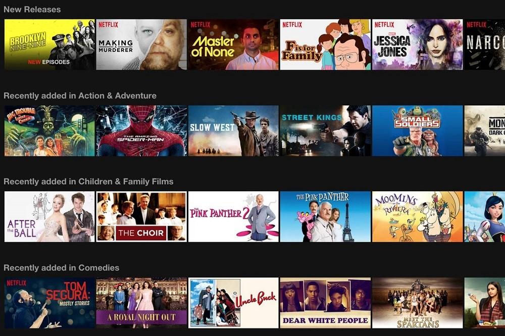 secret category IDs for Netflix