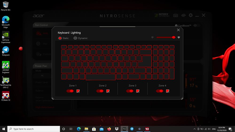 NitroSense