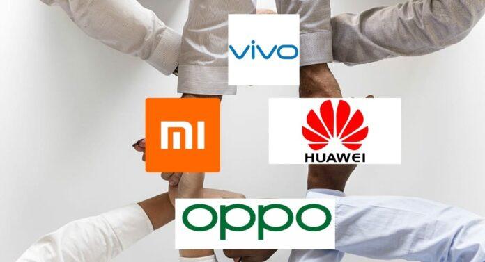 Google, OPPO, Vivo і Xiaomi