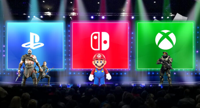 Microsoft, Nintendo, Sony Gaming