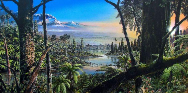 Древній тропічний ліс виявлений під льодами Антарктики