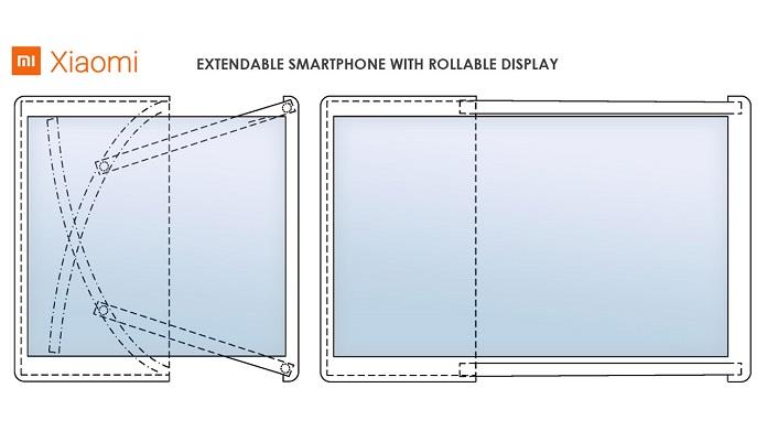 Rolowany smartfon Xiaomi Mi Alpha R