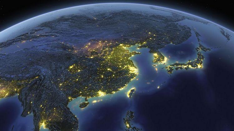Древнє морське дно поховано в 400 милях від Китаю