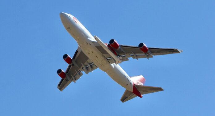 Virgin Orbit Boeing 747-400