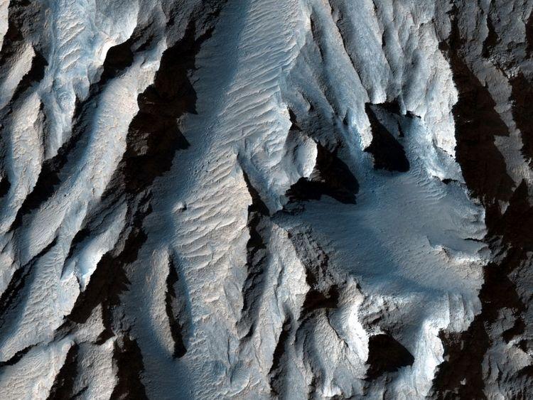 Mars' Valles Marineris Найбільший каньйон в Сонячній системі