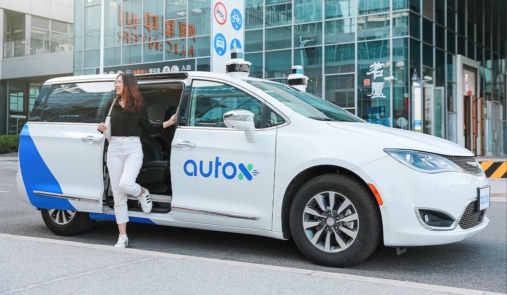 AutoX robotaxi