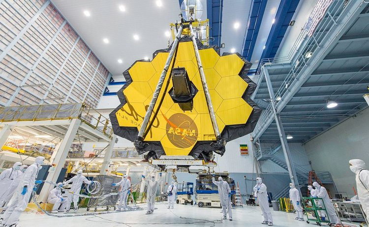телескоп Джеймса Вебба NASA