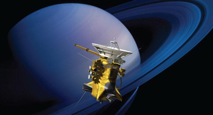 Cassini Ring Grazing Orbits