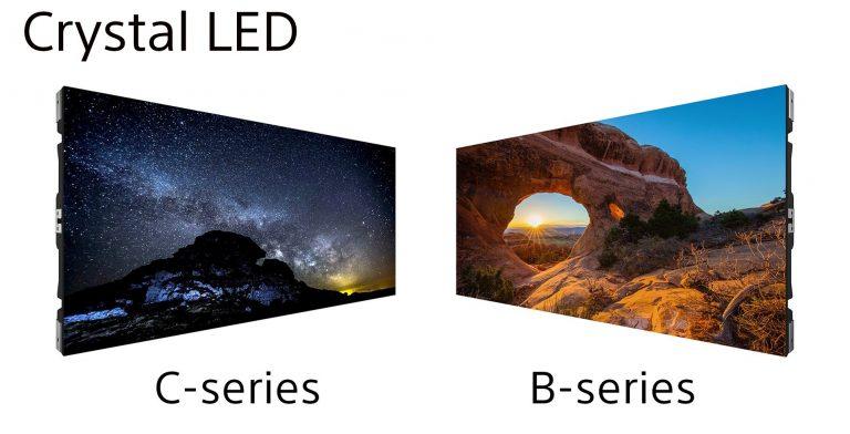 Sony модульні системи відображення Crystal LED