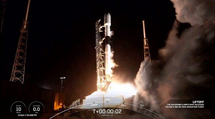 SpaceX Turksat-5a