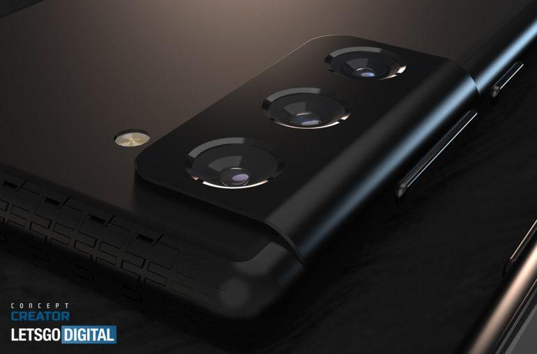 samsung galaxy s21 camera design