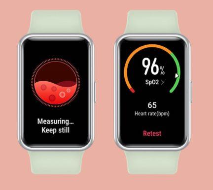 Моніторинг SpO2 в Huawei Watch Fit
