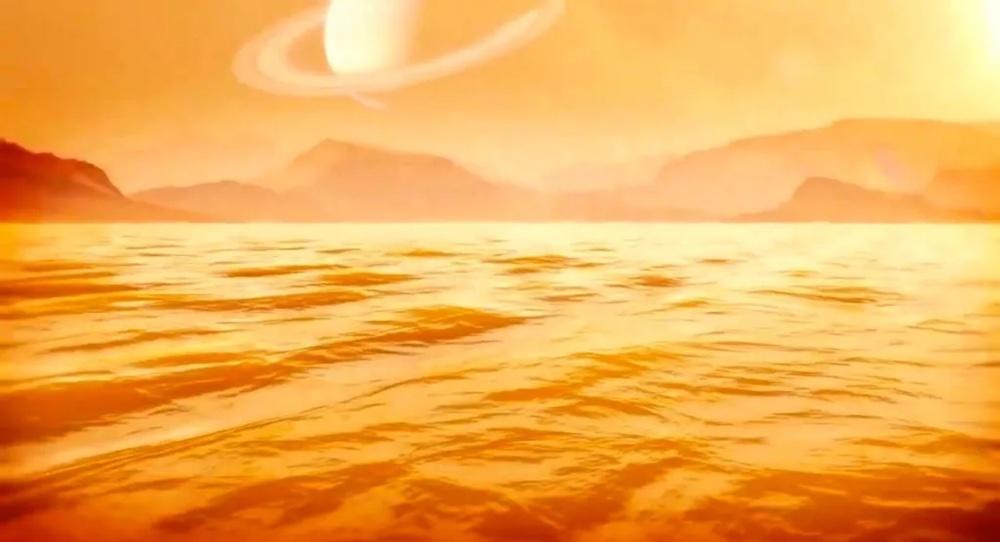 NASA Kassini Titan Kraken Mare