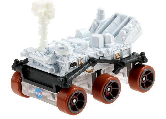 NASA's Mars Perseverance rover Hot Wheels toy