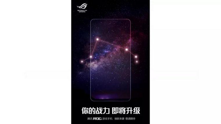 ASUS ROG Phone 4 teaser