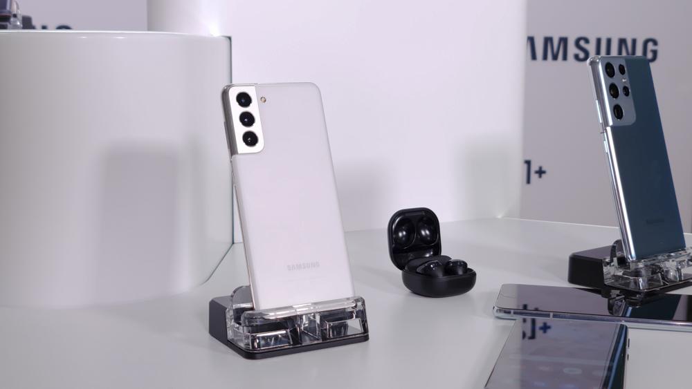 Samsung представила флагманские смартфоны Galaxy S21