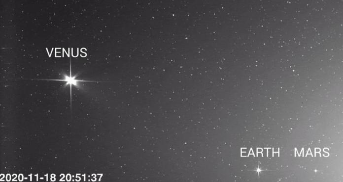 ESA і Solar Orbiter NASA зробили ці зображення Венери, Землі і Марса 18 листопада 2020