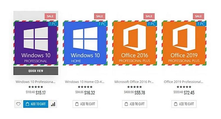 Лучшее новогоднее предложение на 2021: Windows 10 за $5,7 и скидки до 62%!