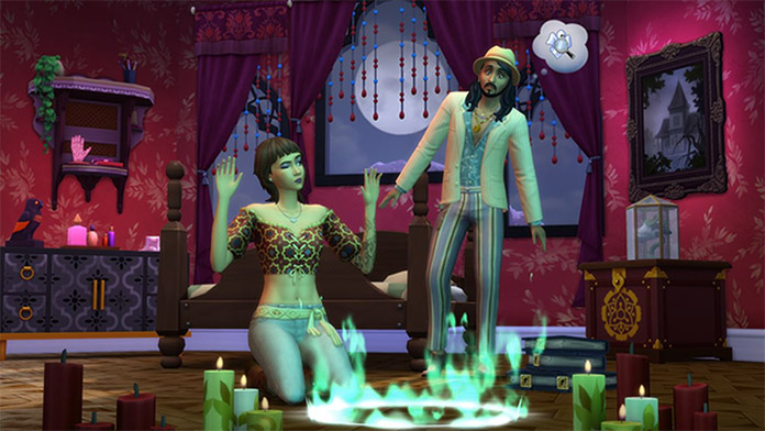 The Sims 4 Паранормальное – Каталог