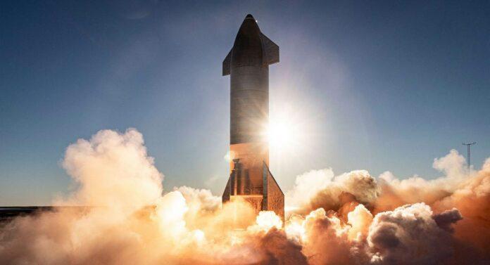 Вогневі випробування двигунів прототипу Starship SN8 (SpaceX)
