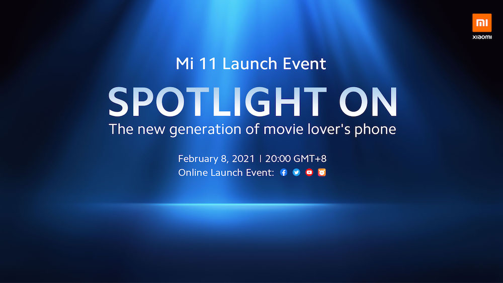 Xiaomi Mi 11 Launch Event