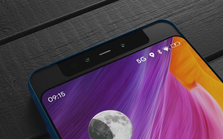 xiaomi smartphone slide display
