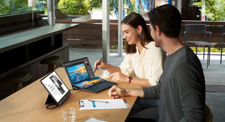 ASUS ZenBook Duo #CES2021