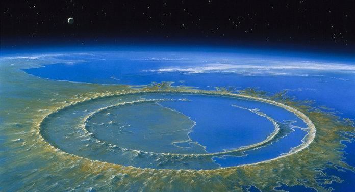 кратер Chicxulub