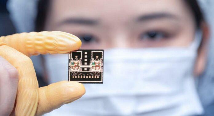 77 GHz mm wave chip