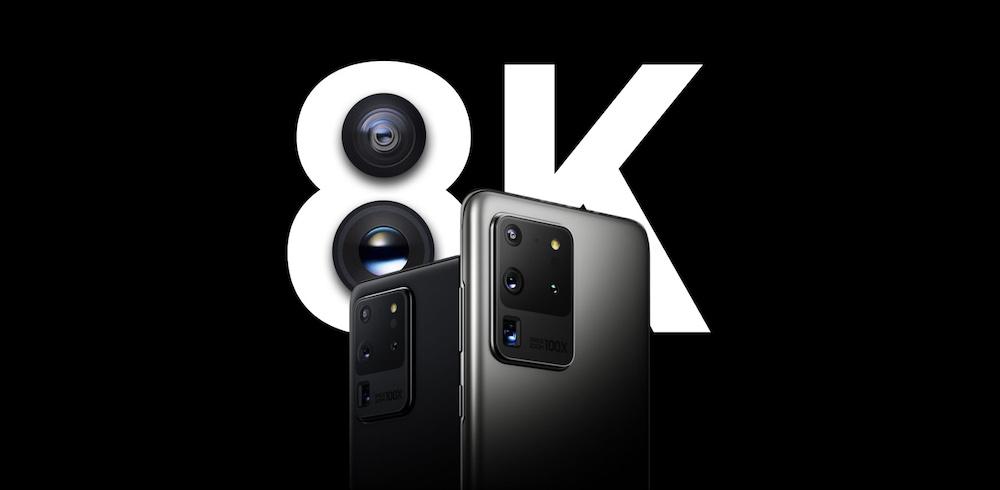 8K Samsung Galaxy S20