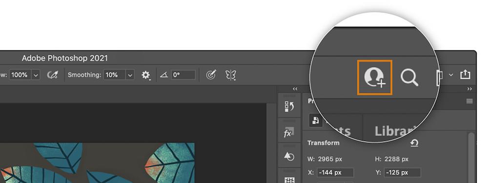 Adobe Creative Suite Invite to Edit