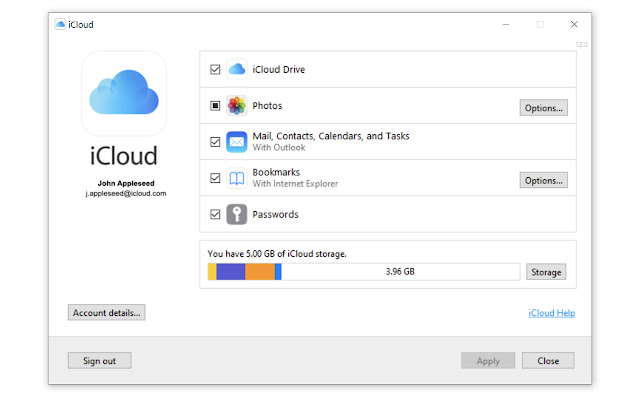 Apple iCloud Passwords Chrome Windows