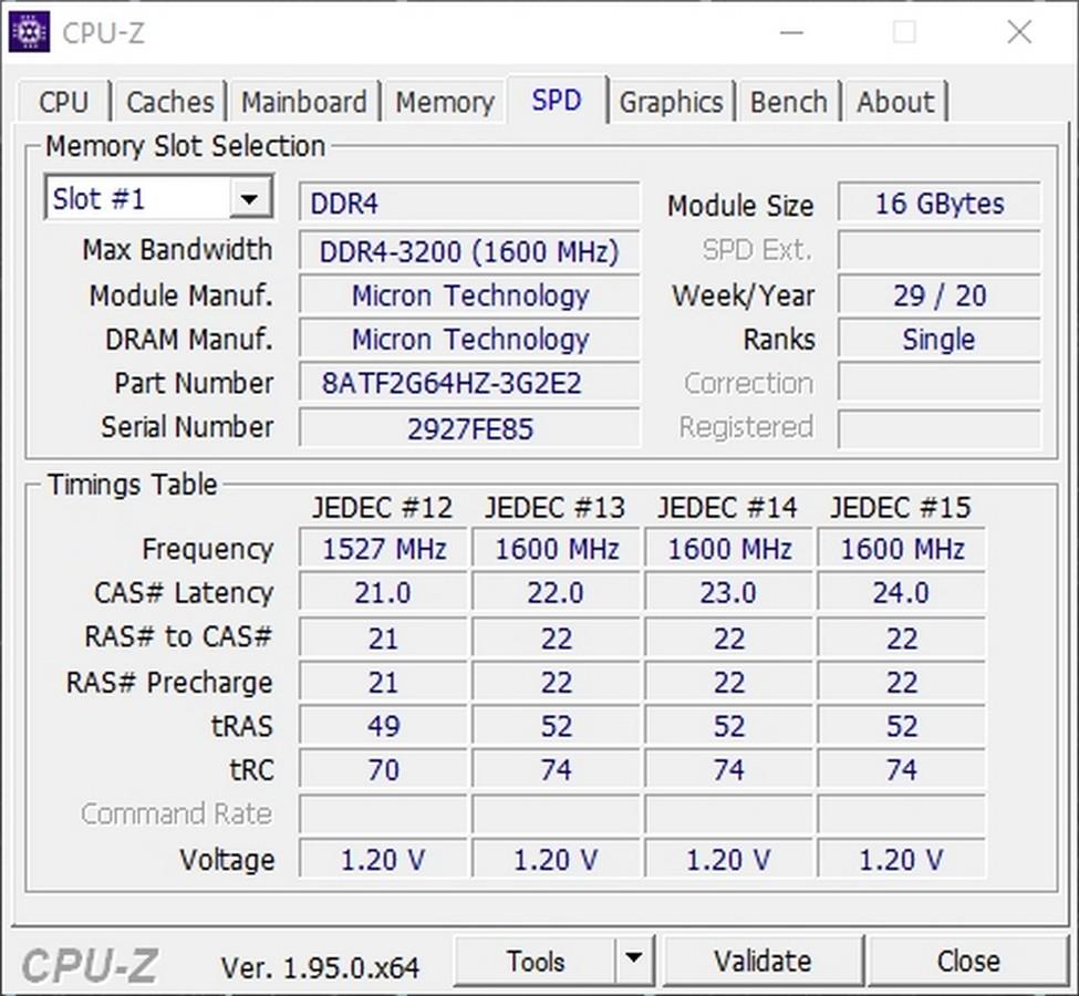 ASUS TUF Dash F15 RAM