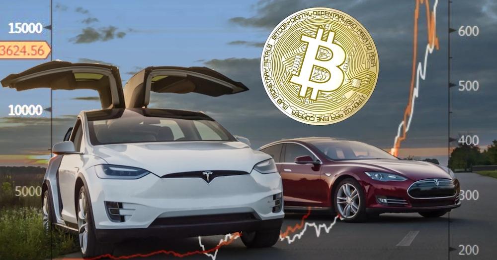 Tesla for Bitcoins
