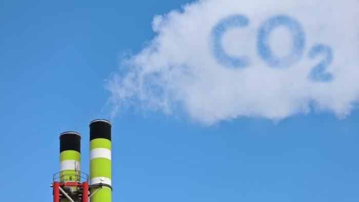 парникові гази co2