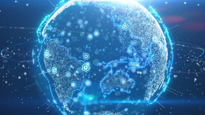digital planet earth